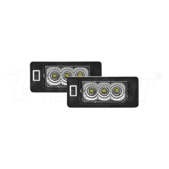 High Power BMW E39 LED License Plate Lamp (Clear)
