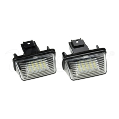 Peugeot/Citroen LED License Plate Lamp