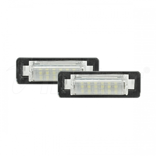 Benz W210 4D LED License Plate Lamp