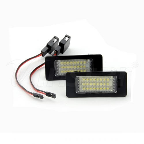 Audi Q5 LED License Plate Lamp