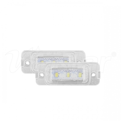 Benz W164 LED License Lamp