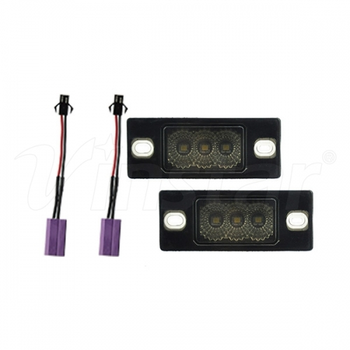 High Power VW Canbus LED License Plate Lamp (Smoke
