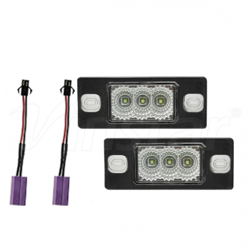 Audi Canbus LED License Plate Lamp (Clear+CREE LED
