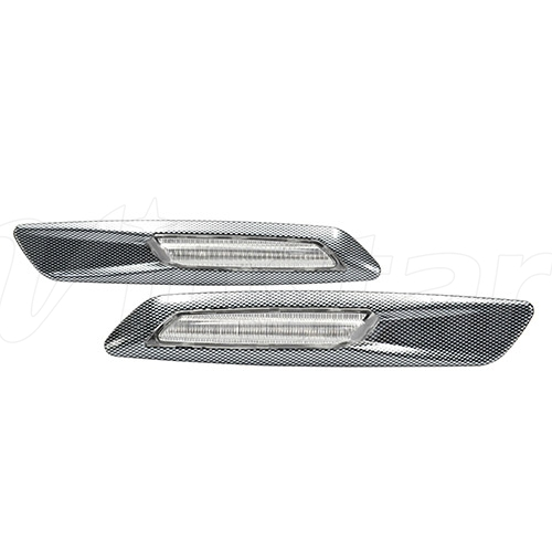 Toyota LED Side marker(Clear lens+3D Carbon finishes)