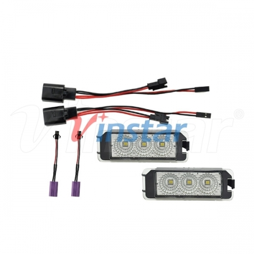 SEAT LED License Plate Lamp (Clear+CREE LED)
